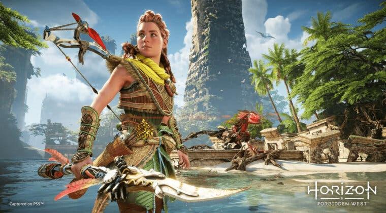 Imagen de Horizon Forbidden West muestra 14 minutos de gameplay en PS5; primeros detalles oficiales