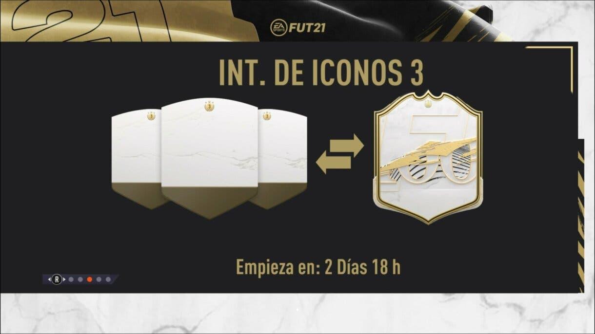 FIFA 21 Ultimate Team Icon Swaps tercera tanda