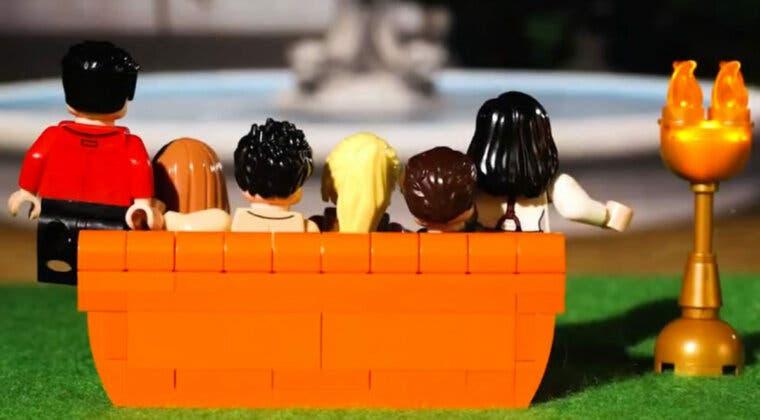 Imagen de Revive las escenas más míticas de Friends gracias a lo nuevo de Lego