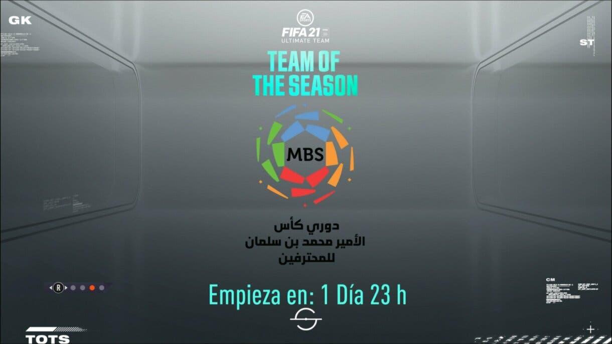 FIFA 21 Ultimate Team próximo TOTS Liga Profesional Saudí confirmado