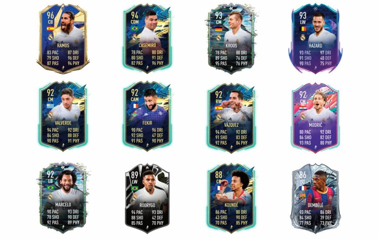 Links verdes de Benzema TOTS. FIFA 21 Ultimate Team