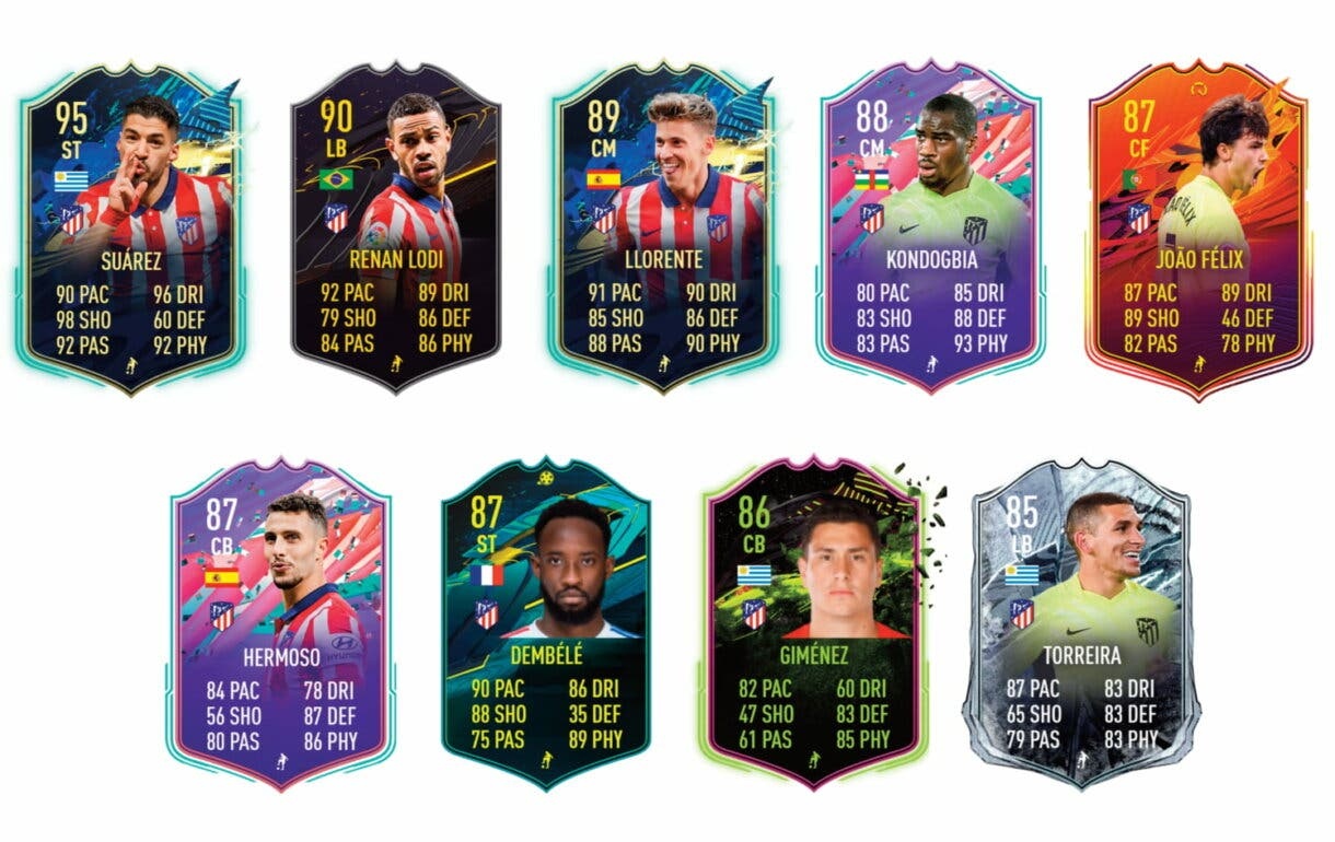 Links verdes de Carrasco TOTS. FIFA 21 Ultimate Team