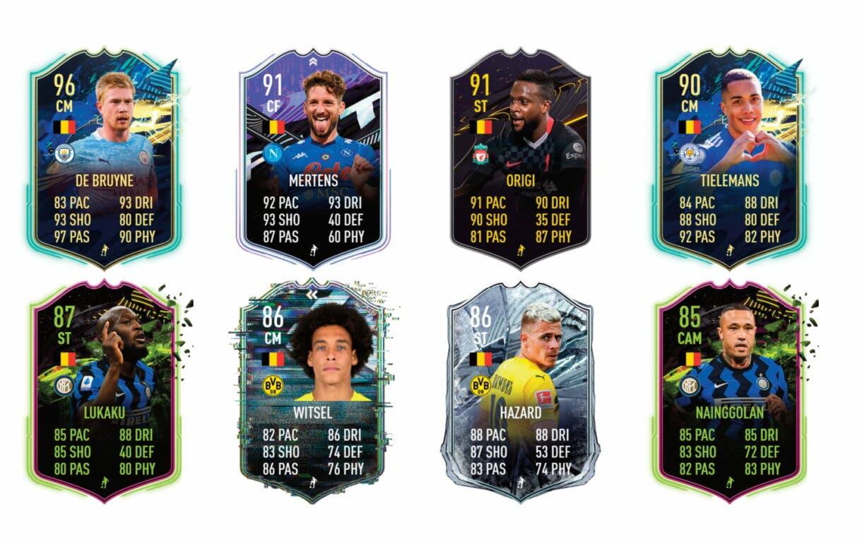 Links naranjas de Carrasco TOTS. FIFA 21 Ultimate Team