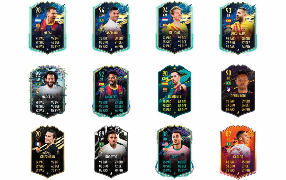 Links verdes de Coutinho Flashback. FIFA 21 Ultimate Team