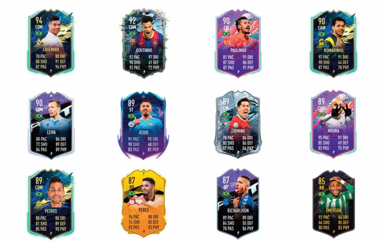 Links naranjas de Douglas Costa Flashback. FIFA 21 Ultimate Team.