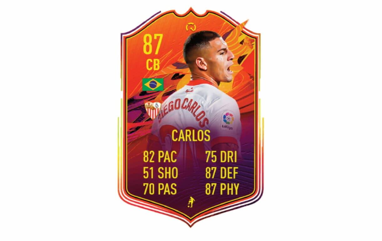 FIFA 21 Ultimate Team Fernando Reges POTM de la Liga Santander link perfecto