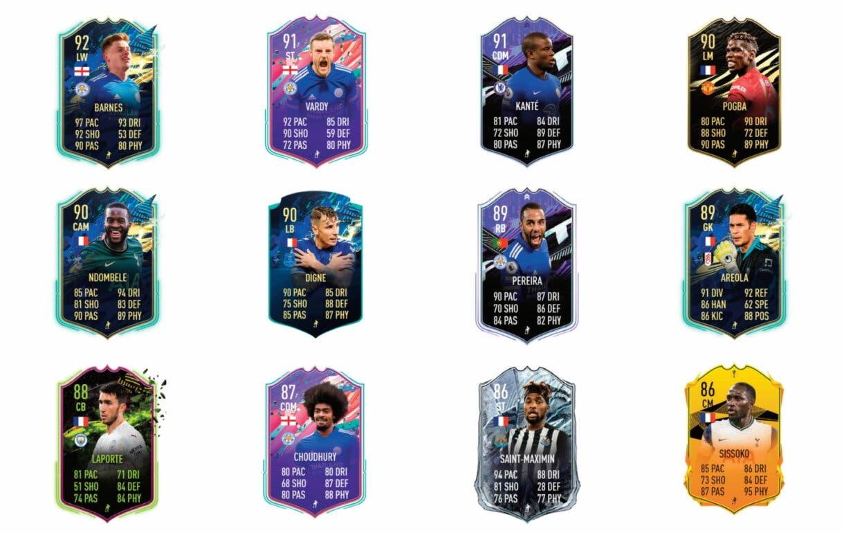 FIFA 21 Ultimate Team links verdes de Fofana TOTS