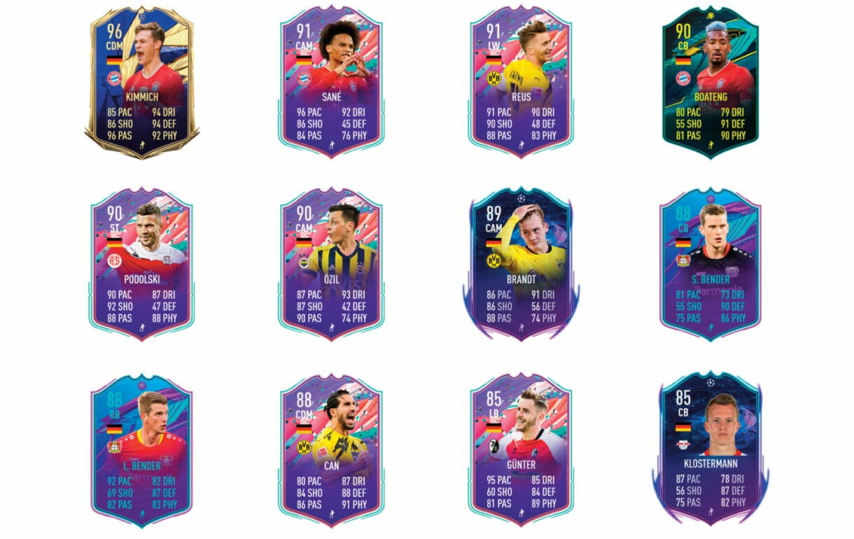 Links naranjas de Gündogan TOTS. FIFA 21 Ultimate Team review
