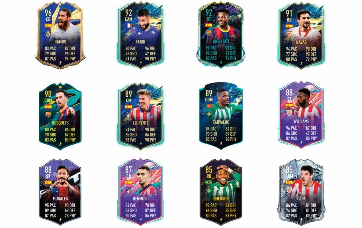 Links verdes de Joaquín Flashback. FIFA 21 Ultimate Team