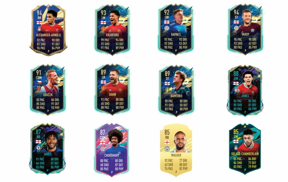 Links verdes de Lingard POTM. FIFA 21 Ultimate Team