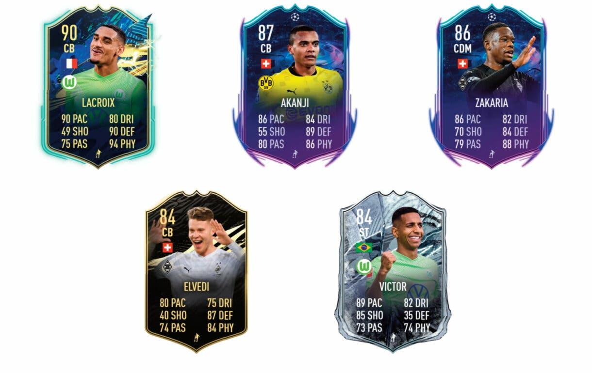 Links verdes de Mbabu Flashback. FIFA 21 Ultimate Team