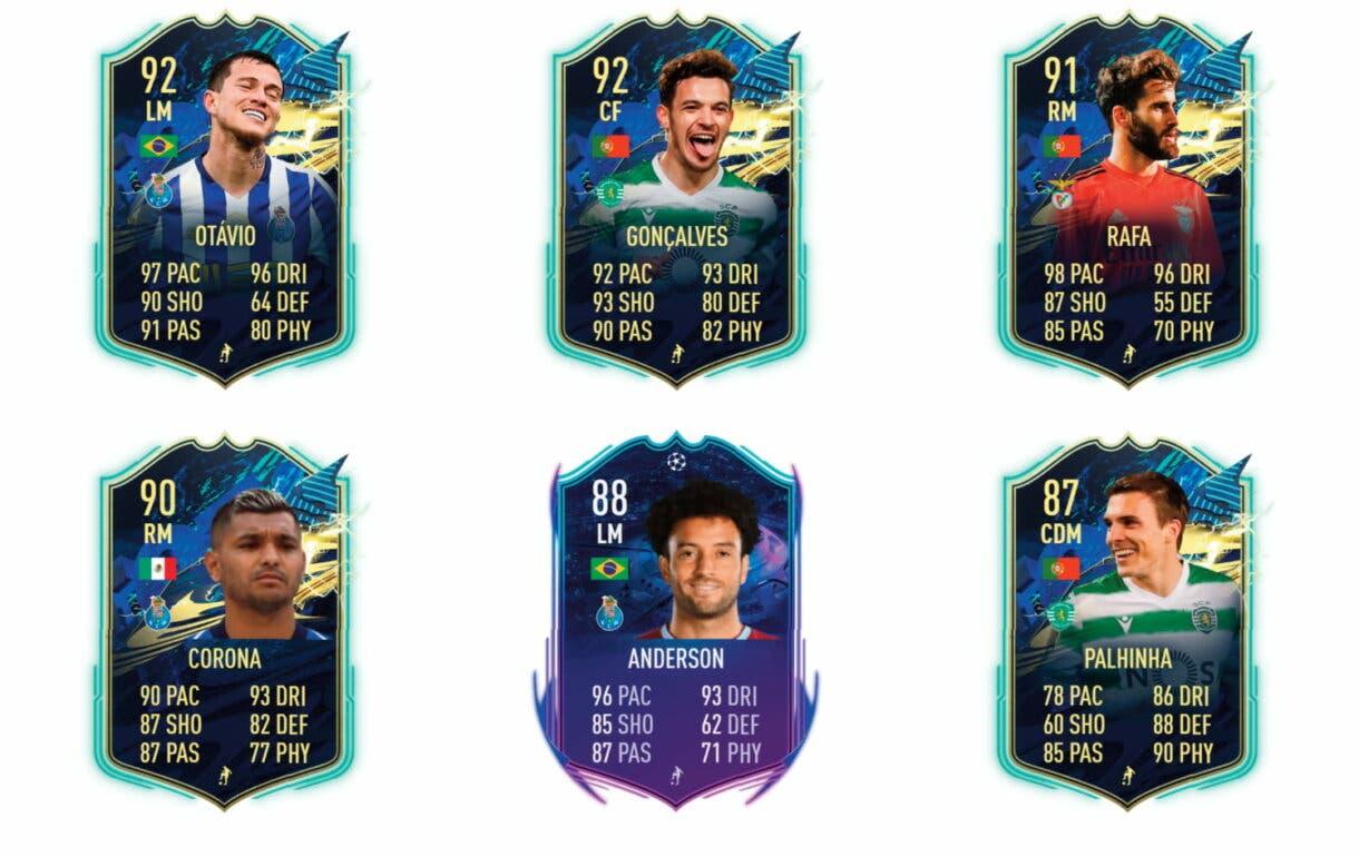 Links verdes de Pepe TOTS. FIFA 21 Ultimate Team