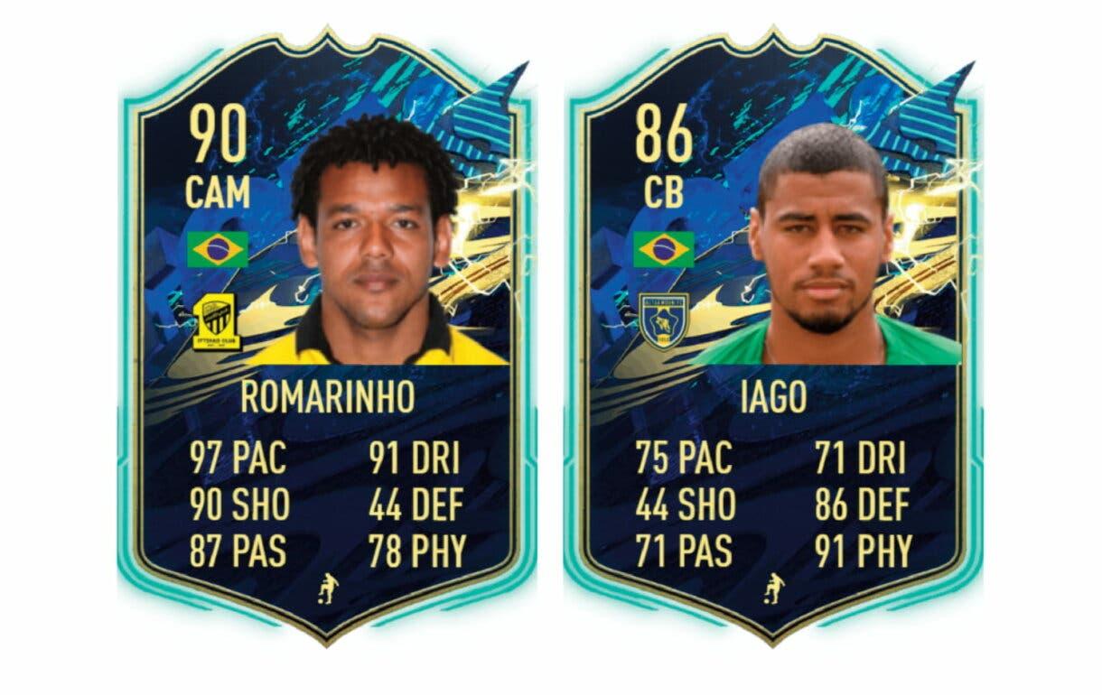 Links verdes de Petros TOTS. FIFA 21 Ultimate Team