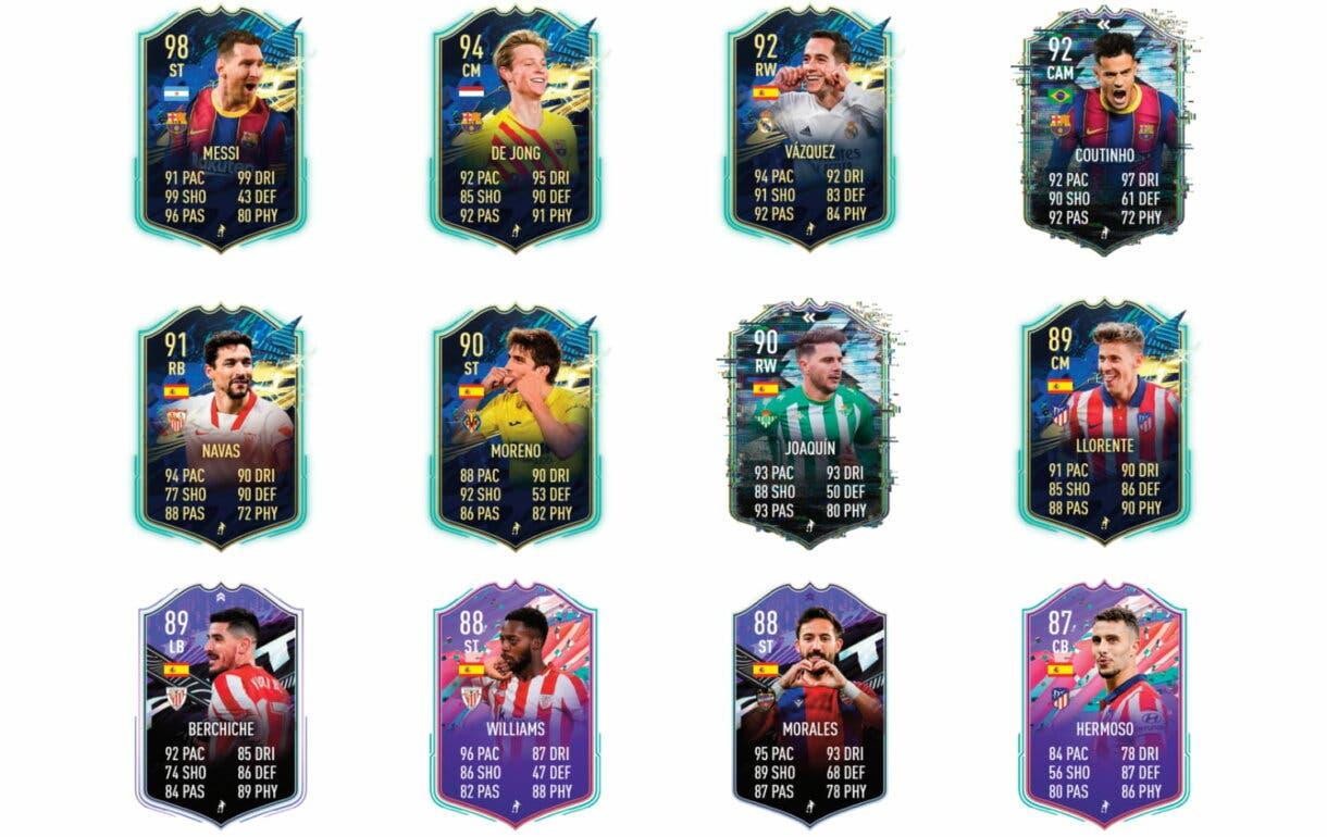 Links verdes de Piqué Flashback. FIFA 21 Ultimate Team