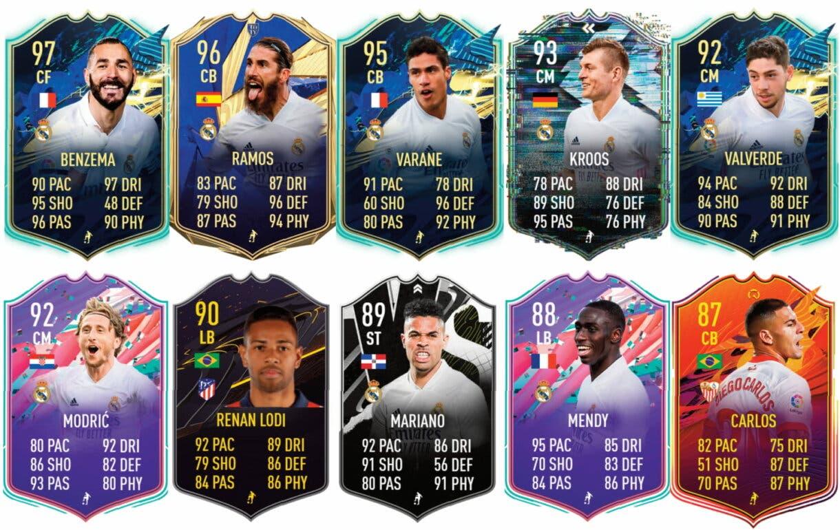 Links verde de Rodrygo Showdown.  FIFA 21 Ultimate Team