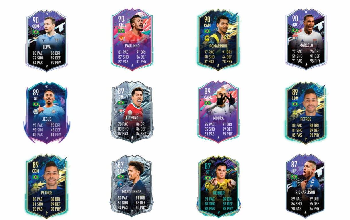 Links naranjas de Coutinho Flashback. FIFA 21 Ultimate Team