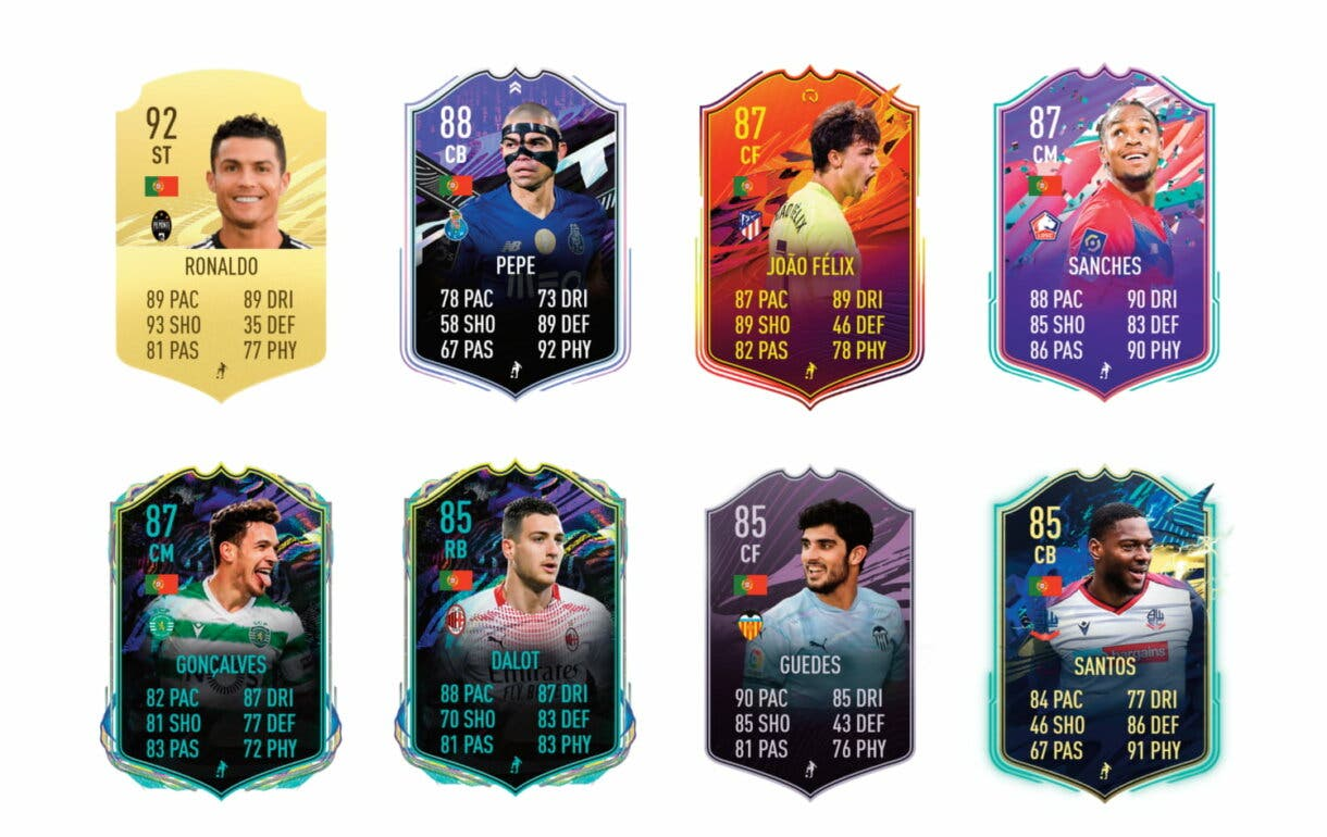 FIFA 21 Ultimate Team links naranjas de Rúben Dias TOTS
