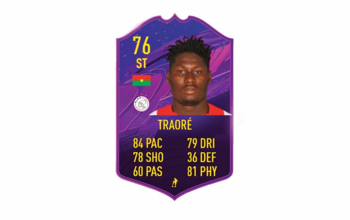 Links naranjas de Tapsoba TOTS. FIFA 21 Ultimate Team