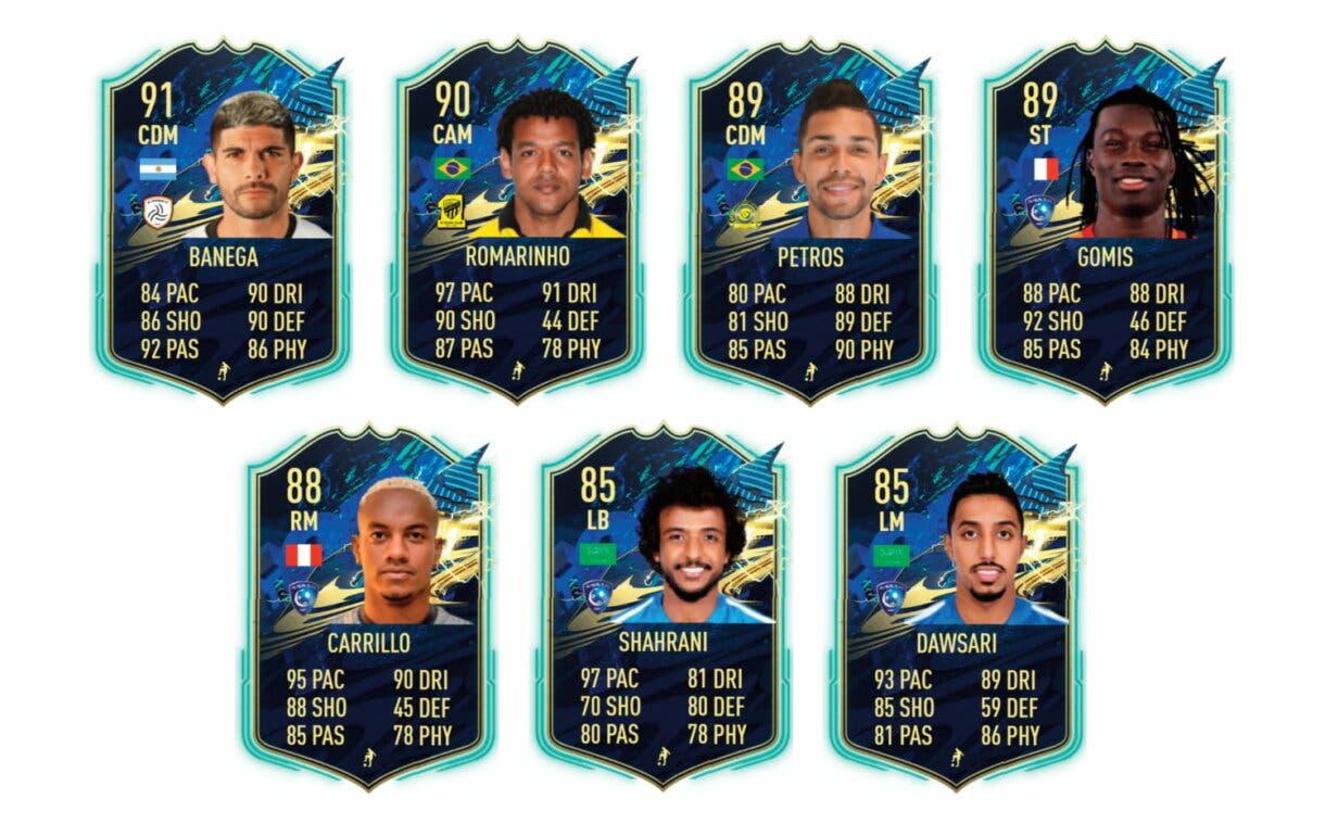 Links naranjas por liga de te Vrede TOTS. FIFA 21 Ultimate Team
