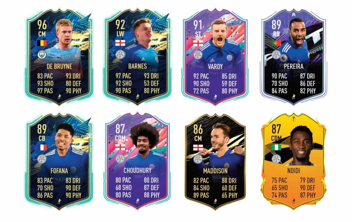 Links verdes de Tielemans TOTS. FIFA 21 Ultimate Team