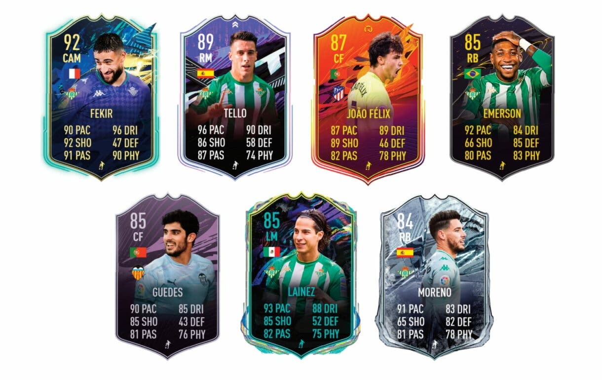 FIFA 21 Ultimate Team. William Carvalho TOTS Moments links verdes