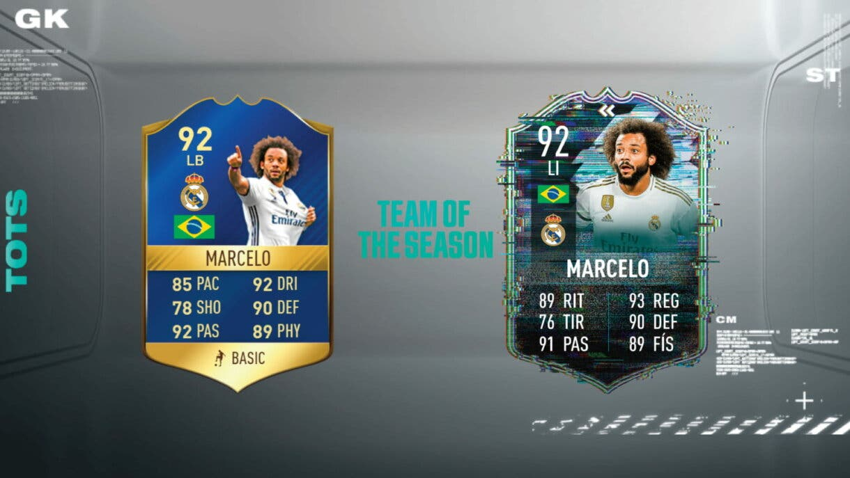 FIFA 21 Ultimate Team: ¿Qué TOTS Flashback de la Liga Santander podría aparecer? Marcelo