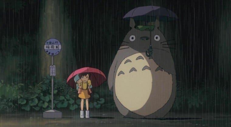 """Imagen de Studio Ghibli junta a Totoro y """"Monstruos S.A."""" en esta divertida imagen"""