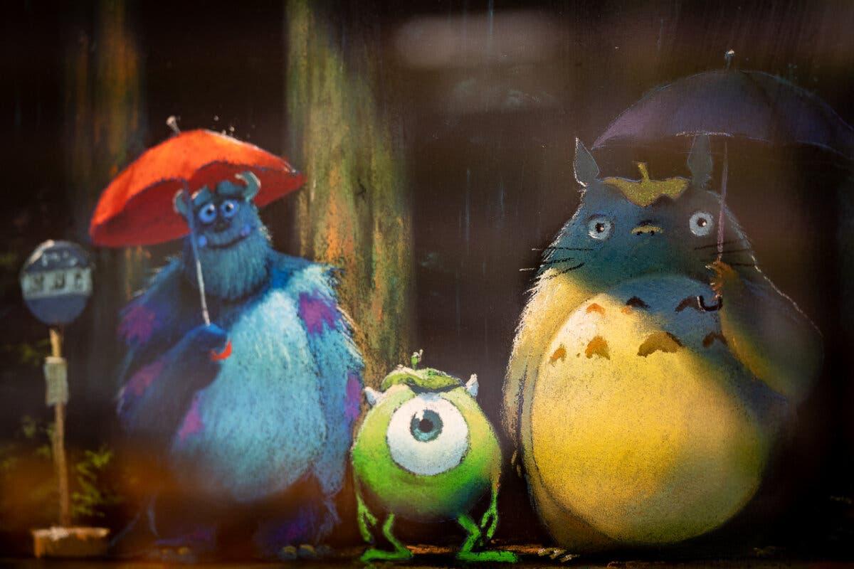 Monstruos SA Studio Ghibli Totoro