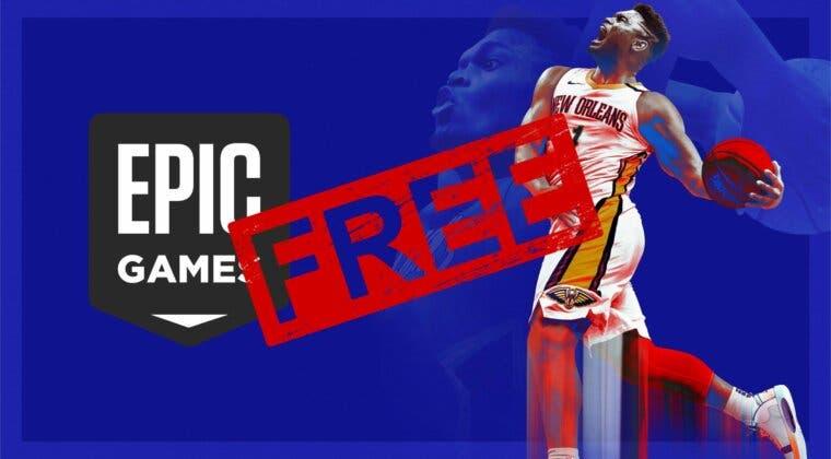 Imagen de Consigue gratis NBA 2K21 para PC y 10 euros de descuento en Epic Games Store