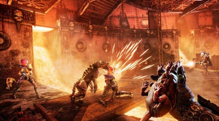 Imagen de Necromunda: Hired Gun muestra su secuencia cinemática de introducción