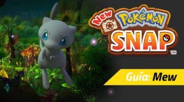Imagen de Guía New Pokémon Snap - Dónde está Mew y cómo hacer que aparezca