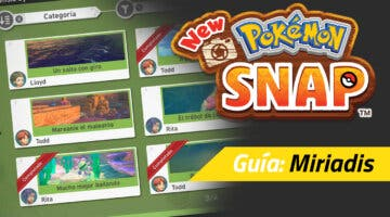 Imagen de Guía New Pokémon Snap - Todos los encargos de Miriadis y cómo completarlos