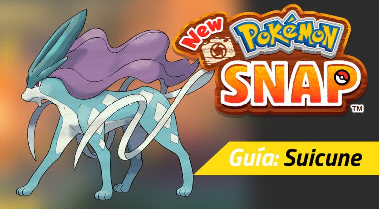 Imagen de Dónde encontrar y fotografiar a Suicune en New Pokémon Snap