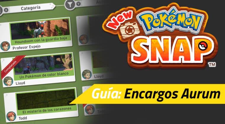 Imagen de Guía New Pokémon Snap - Todos los encargos de Aurum y cómo completarlos