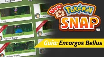 Imagen de Guía New Pokémon Snap - Todos los encargos de Bellus y cómo completarlos
