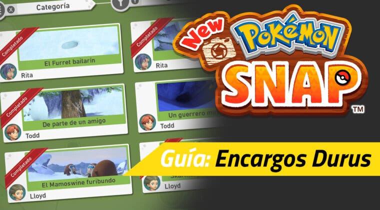 Imagen de Guía New Pokémon Snap - Todos los encargos de Durus y cómo completarlos
