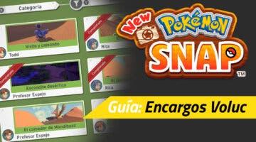 Imagen de Guía New Pokémon Snap - Todos los encargos de Voluc y cómo completarlos