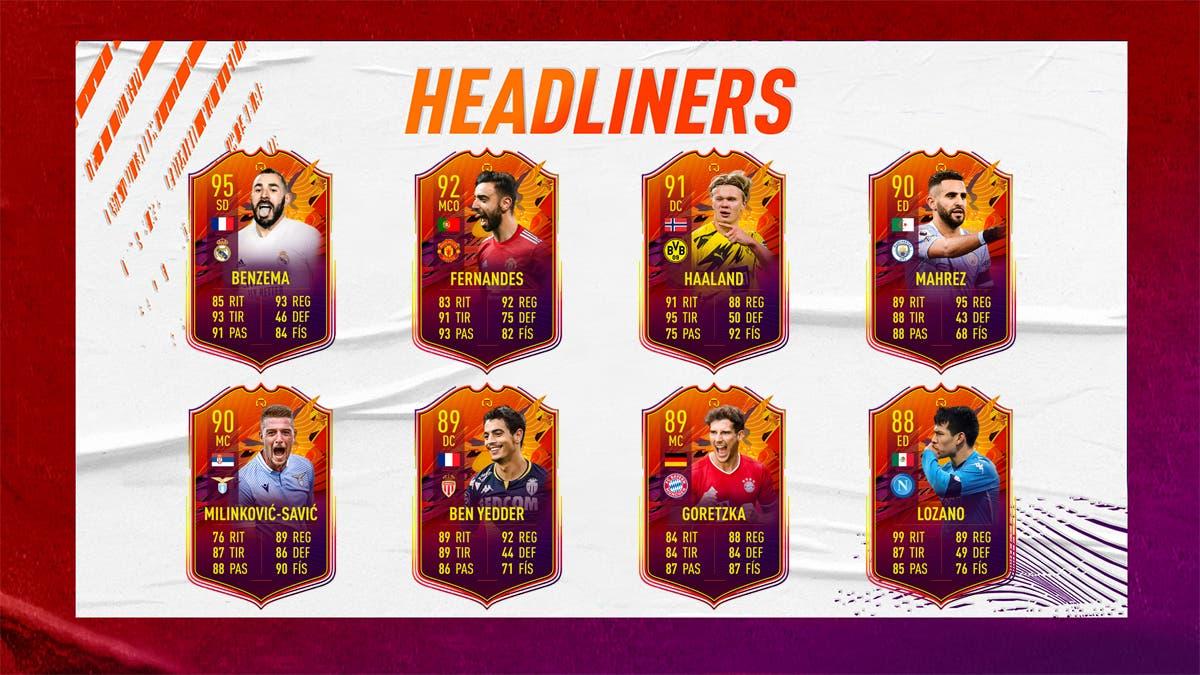 FIFA 21 Ultimate Team Headliners 12-05-2021