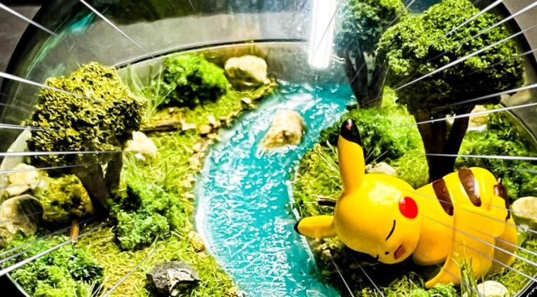 Imagen de Un fan de Pokémon recrea el interior de las pokéball con estos increíbles terrarios en miniatura