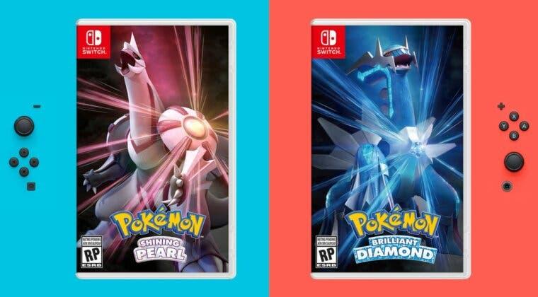 Imagen de Pokémon Diamante Brillante y Perla Reluciente ya tienen fecha de lanzamiento y estas son sus carátulas