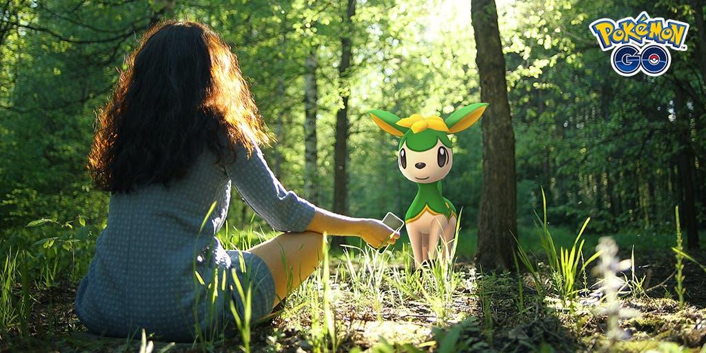 Pokemon GO Deerling vernano temporada descubrimiento