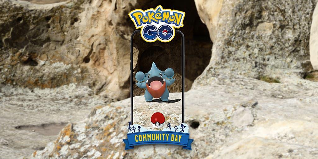 Pokemon GO Gible Dia de la Comunidad