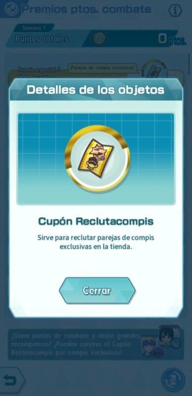 Pokemon Masters EX Cupon Reclutacompis
