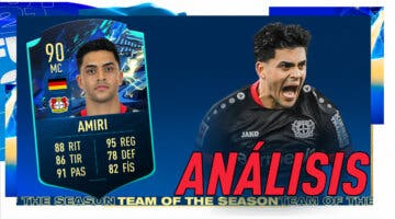 Imagen de FIFA 21: análisis de Amiri TOTS Moments. ¿Un mediocentro de primer nivel?