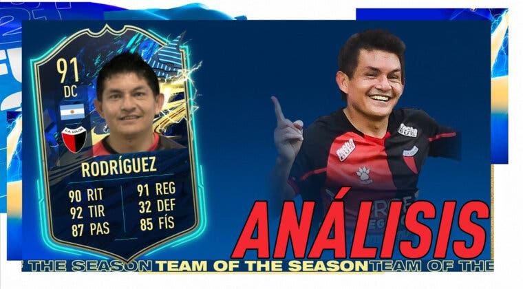 Imagen de FIFA 21: análisis de Luis Miguel Rodríguez TOTS gratuito. ¿Uno de los mejores DC´s de Argentina? ¿Funciona como revulsivo?