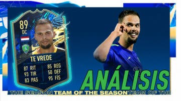 Imagen de FIFA 21: análisis de te Vrede TOTS, la nueva carta gratuita