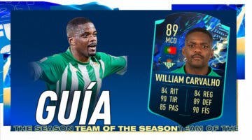 Imagen de FIFA 21: guía para conseguir a William Carvalho TOTS Moments