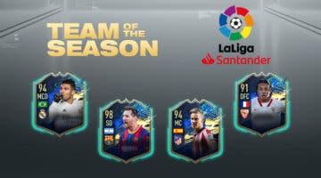 Imagen de FIFA 21: predicción del TOTS de la Liga Santander (Equipo de la Temporada)