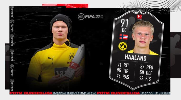Imagen de FIFA 21: ¿Merece la pena Haaland SPOTM? + Solución del SBC