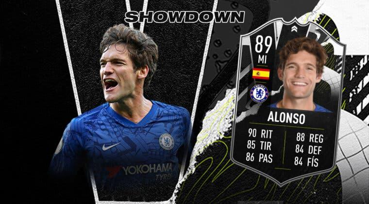 Imagen de FIFA 21: ¿Merece la pena Marcos Alonso Showdown? + Solución del SBC
